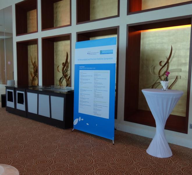 1st Personalized and Precision Medicine Symposium 2014-05