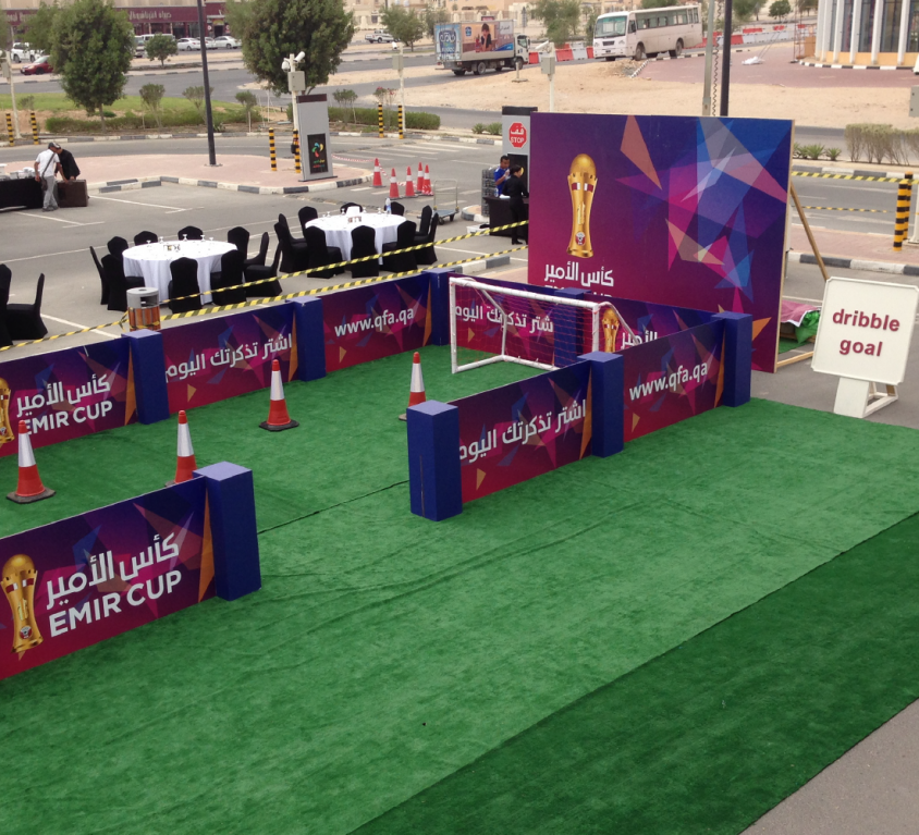 QFA 43rd Emir Cup Fan Zone 2015