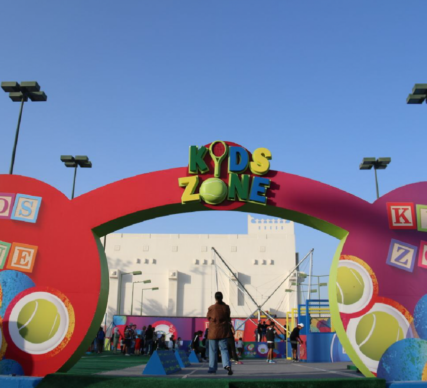 QTF -ExxonMobil and Total Open Fan Zone Area 2017-2018