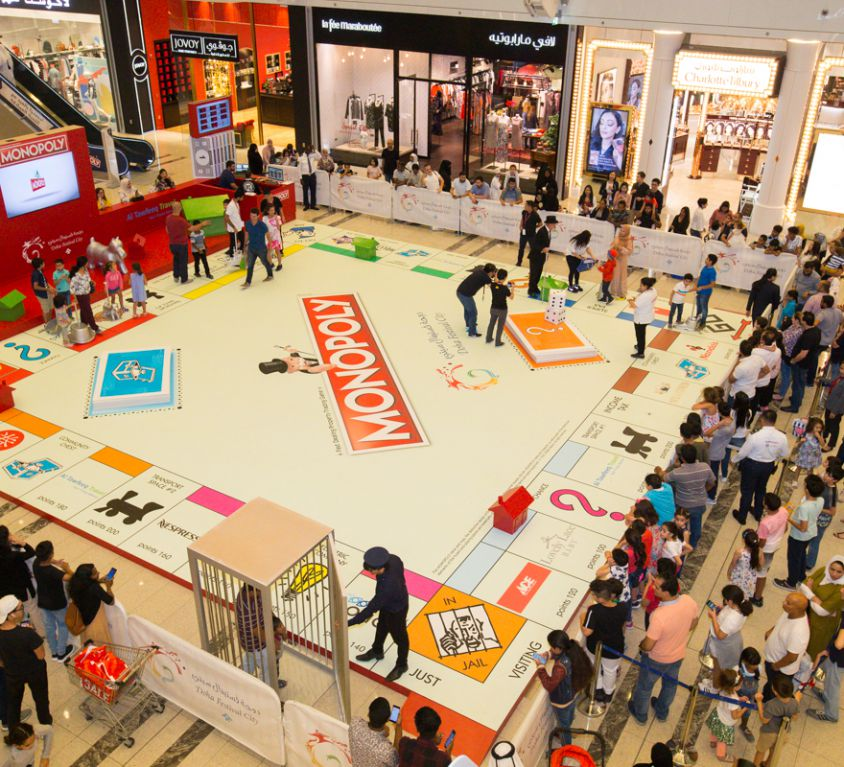 Monopoly Live Game Show Activation 2018