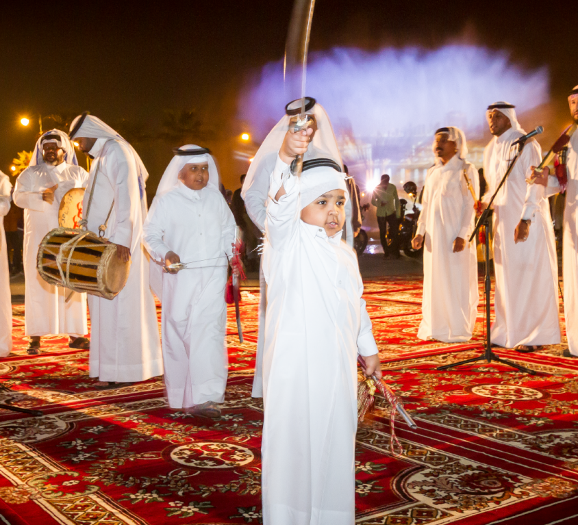 Qatar National Day Celebrations 2015 UDC -The Pearl