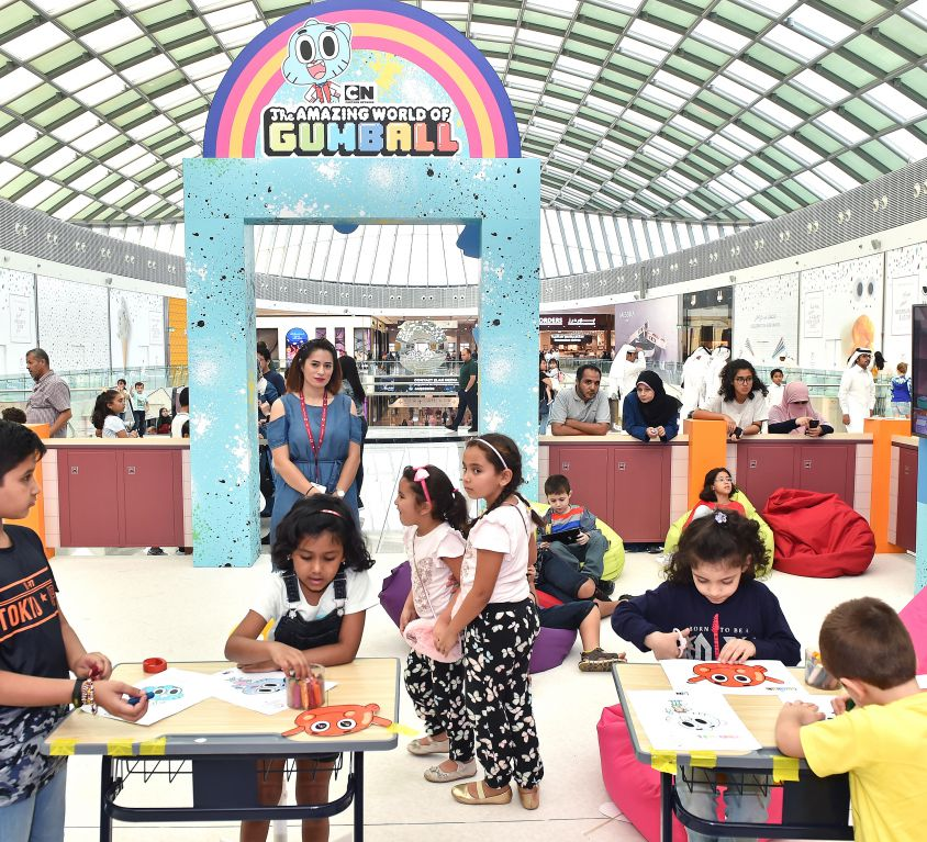 Gumball Back to School Activation 2018