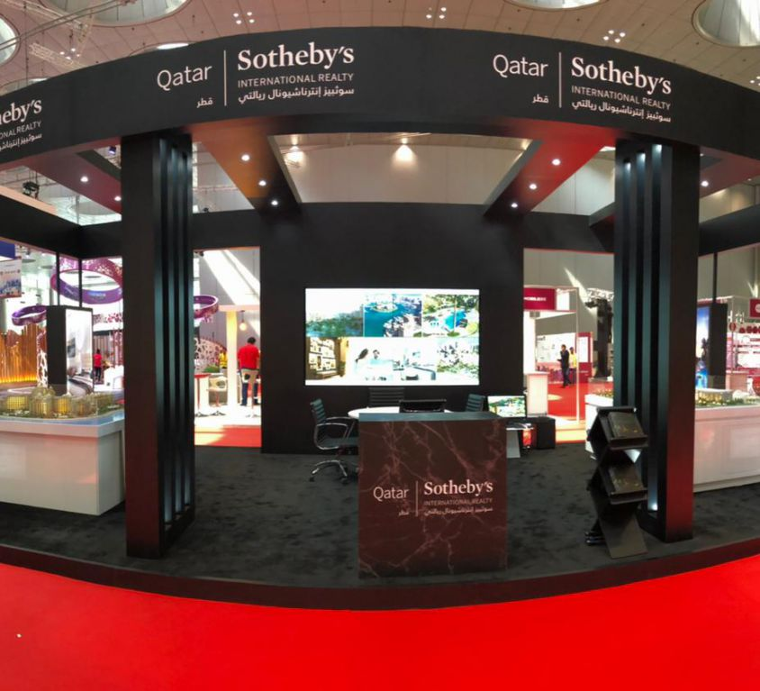Exhibition Stand for Sotheby's in Cityscape