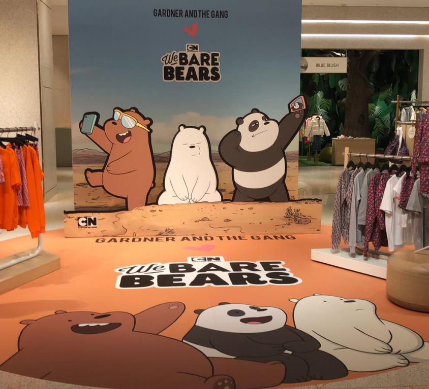 We Bare Bears Activation